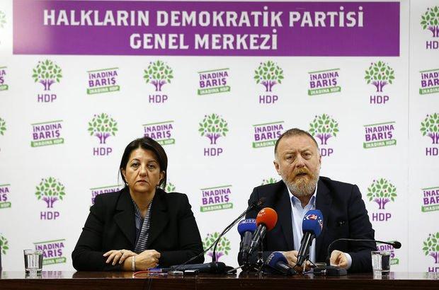 """Buldan ve Temelli'den """"tutuklu HDP'liler"""" için çağrı"""