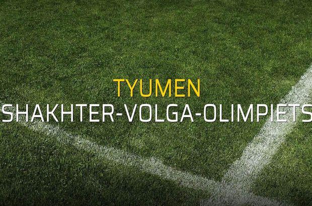 Tyumen: 2 - Shakhter-Volga-Olimpiets: 1