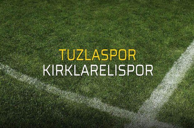 Maç sona erdi: Tuzlaspor: 4 - Kırklarelispor:0