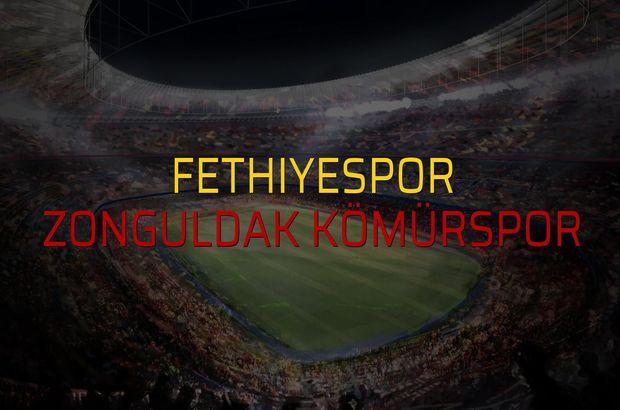 Fethiyespor: 0 - Zonguldak Kömürspor: 0 (Maç sonucu)