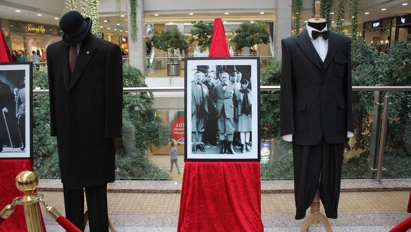 Atatürk'ün giysileri sergileniyor