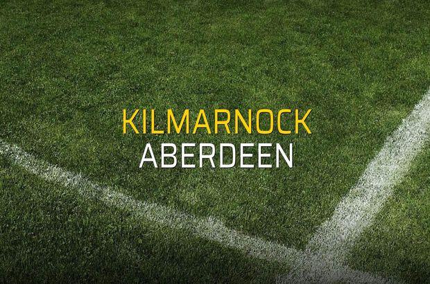 Kilmarnock: 1 - Aberdeen: 2 (Maç sonucu)