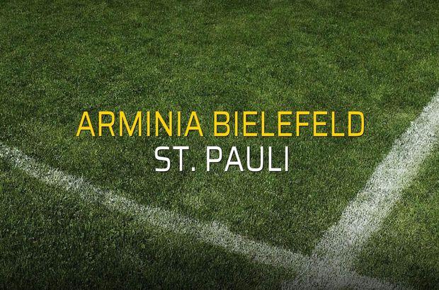 Arminia Bielefeld: 1 - St. Pauli: 2 (Maç sona erdi)