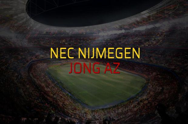 Nec Nijmegen: 3 - Jong AZ: 1 (Maç sonucu)