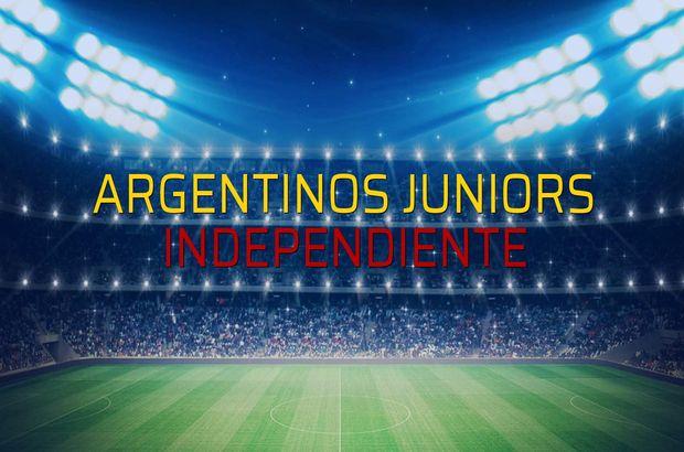 Maç sona erdi: Argentinos Juniors: 0 - Independiente:2