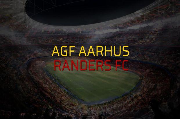 AGF Aarhus: 0 - Randers FC: 2 (Maç sonucu)