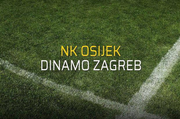 Maç sona erdi: NK Osijek: 0 - Dinamo Zagreb:0