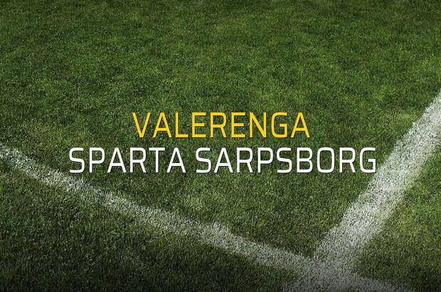 Maç sona erdi: Valerenga: 0 - Sparta Sarpsborg:0