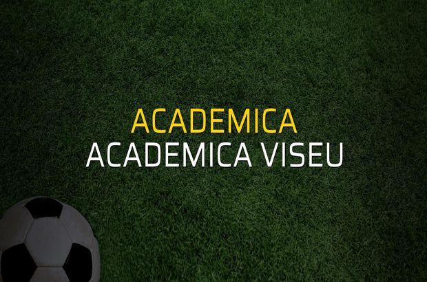 Academica: 0 - Academica Viseu: 1 (Maç sona erdi)