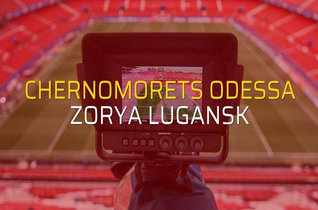 Chernomorets Odessa: 0 - Zorya Lugansk: 3 (Maç sonucu)