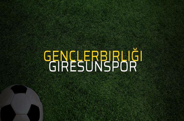 Gençlerbirliği: 1 - Giresunspor: 0 (Maç sona erdi)