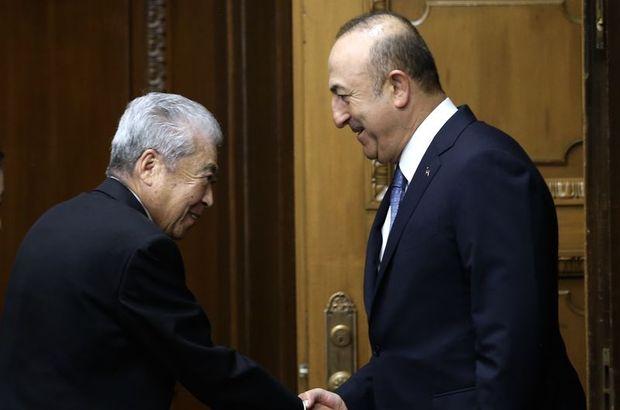 Dışişleri Bakanı Mevlüt Çavuşoğlu Japonya Date Çuiçi
