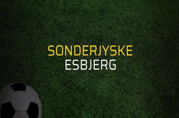 SonderjyskE - Esbjerg maçı rakamları
