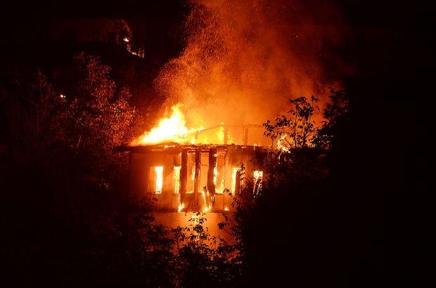 Karabük tarihi konak yangın