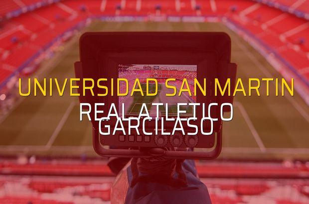 Universidad San Martin - Real Atletico Garcilaso düellosu