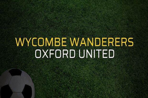 Wycombe Wanderers - Oxford United maçı heyecanı