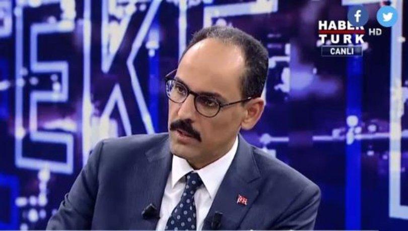 Cumhurbaşkanı Sözcüsü İbrahim Kalın
