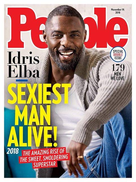 'Yaşayan en çekici erkek' Idris Elba seçildi! 1990 yılından günümüze yaşayan en seksi erkekler