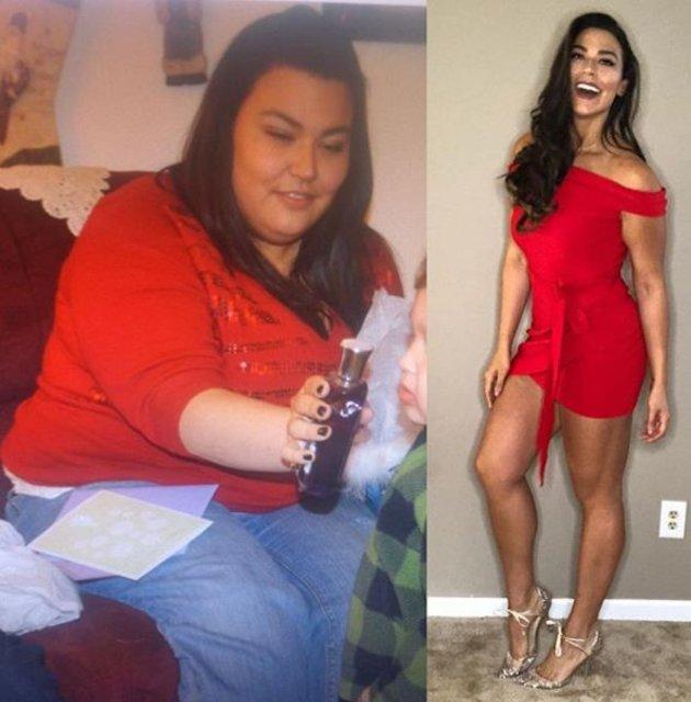 Josie Desgrand, sadece diyet ve egzersizle 65 kilo verdi!