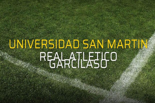 Maç sona erdi: Universidad San Martin: 2 - Real Atletico Garcilaso:3