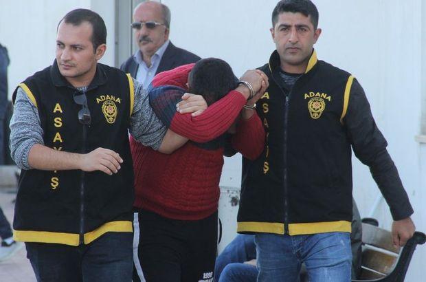 Adliyeye sevk edilen zanlı tutuklandı