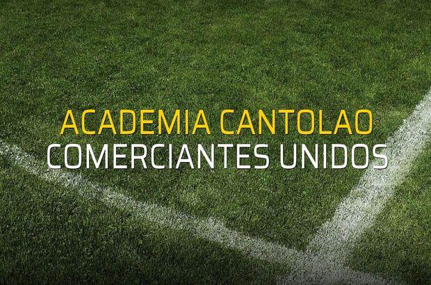Maç sona erdi: Academia Cantolao: 2 - Comerciantes Unidos:0