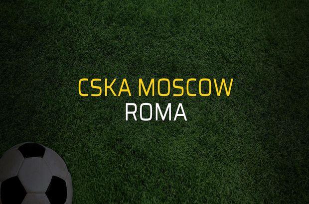 CSKA Moscow: 1 - Roma: 2 (Maç sonucu)