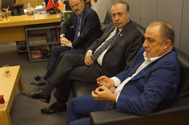 Galatasaray Fatih Terim Mustafa Cengiz