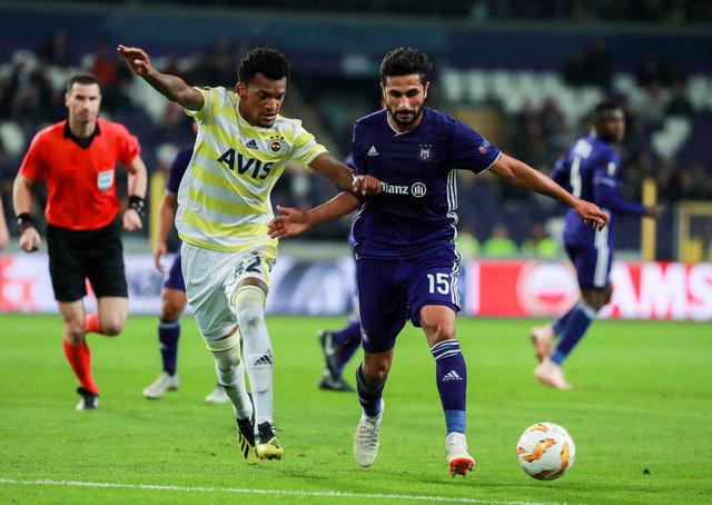 Fenerbahçe'nin muhtemel 11'i (Anderlecht)
