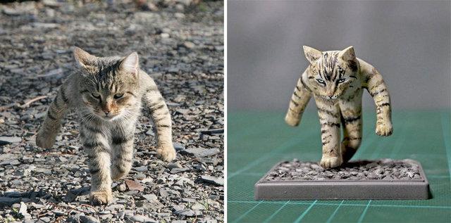 Japon sanatçı fenomen hayvanları heykel yaptı