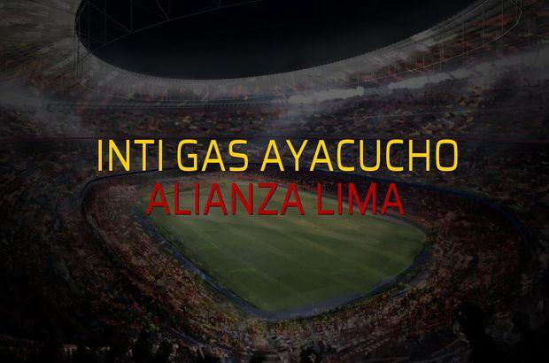 Inti Gas Ayacucho: 1 - Alianza Lima: 2 (Maç sonucu)