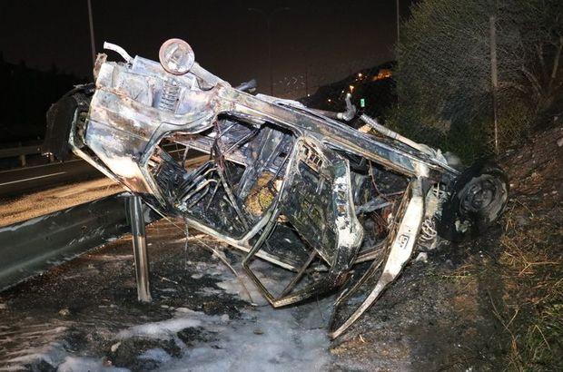 TEM otoyolu trafik kazası