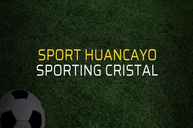 Sport Huancayo: 1 - Sporting Cristal: 1 (Maç sona erdi)