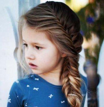 İşte kız çocukları için yapılabilecek hem pratik hem de güzel saç modelleri...