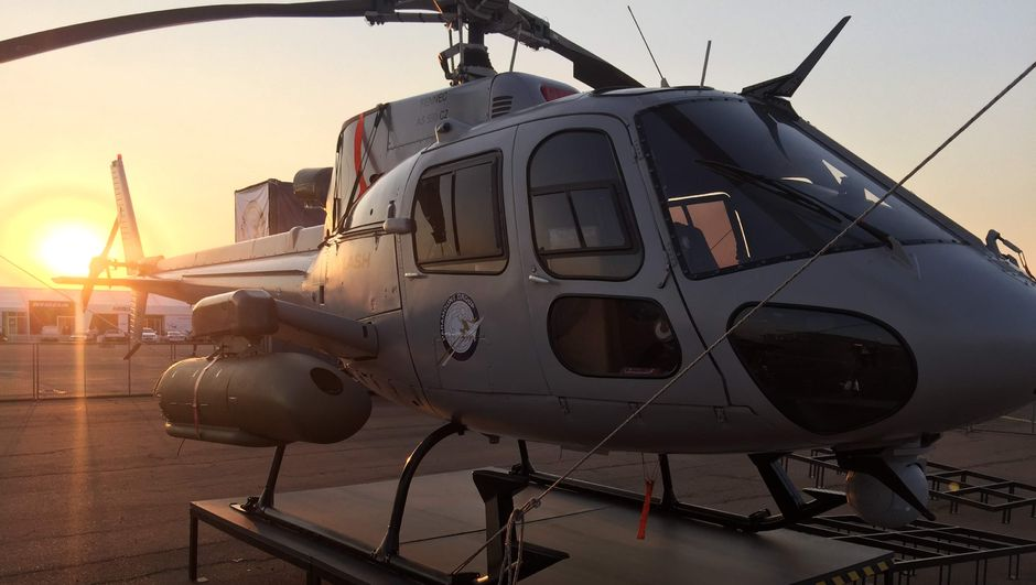 Airbus'un helikopterlerinden H125M'e Türk imzası