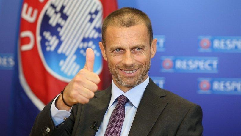 UEFA Başkanı AleksanderCeferin