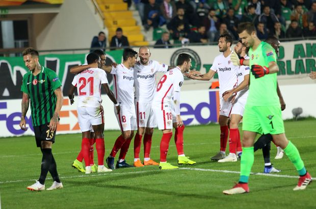 Akhisarspor - Sevilla