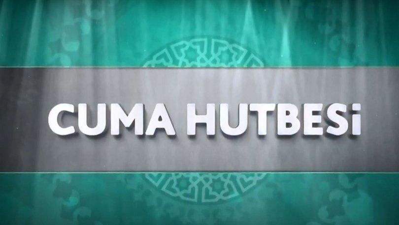 Cuma Hutbesi 9 Kasım