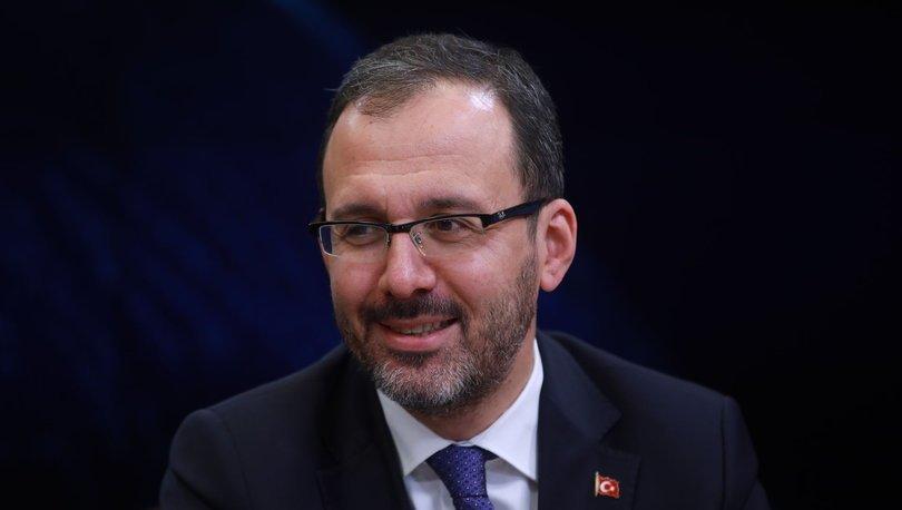 Gençlik ve Spor Bakanı Kasapoğlu