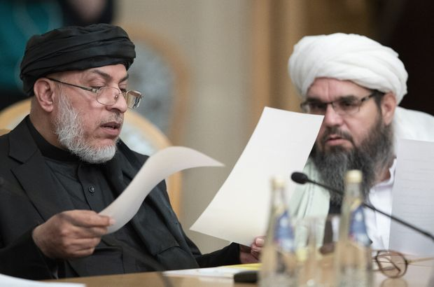 Afgan hükümeti ve Taliban Moskova'da buluştu!