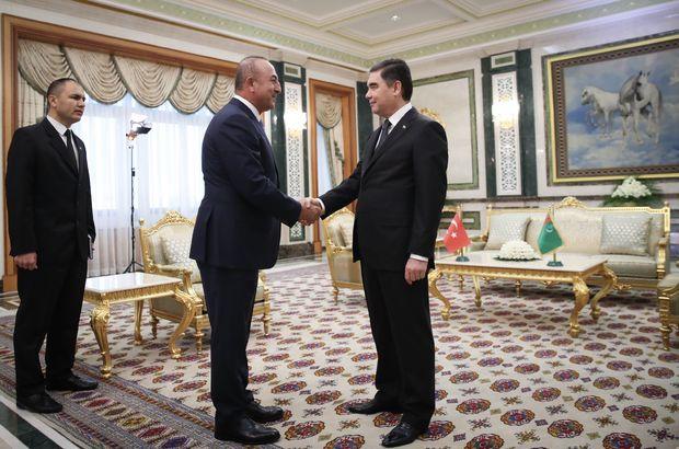 Dışişleri Bakanı Çavuşoğlu Türkmenistan'da!