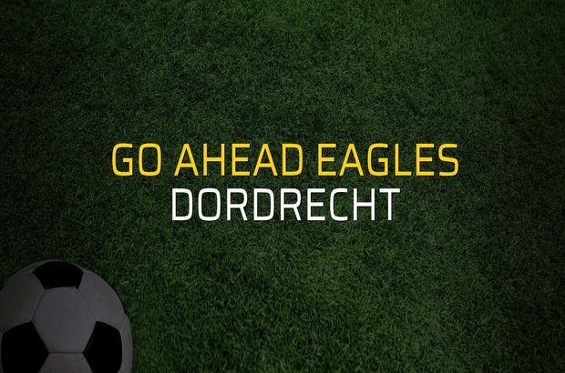 Go Ahead Eagles - Dordrecht karşılaşma önü