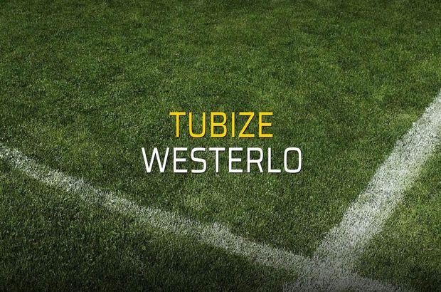 Tubize - Westerlo maçı rakamları