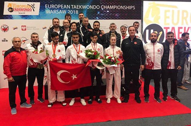 Milli tekvandocular Polonya Avrupa Ümitler Tekvando Şampiyonası
