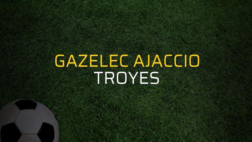 Gazelec Ajaccio: 2 - Troyes: 1