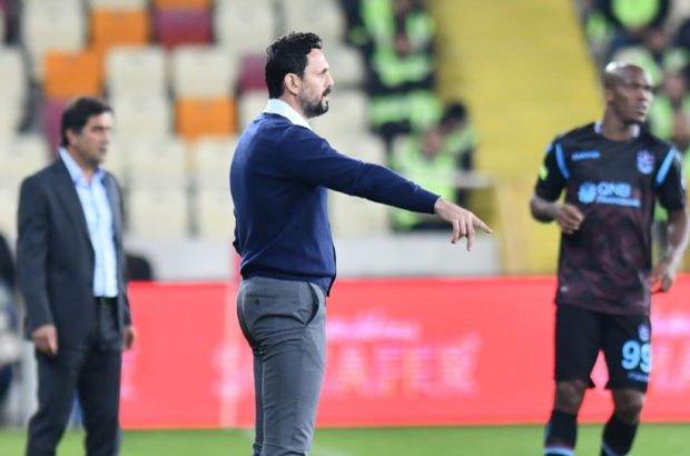 Evkur Yeni Malatyaspor Erol Bulut Trabzonspor