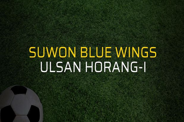 Suwon Blue Wings - Ulsan Horang-i maçı heyecanı