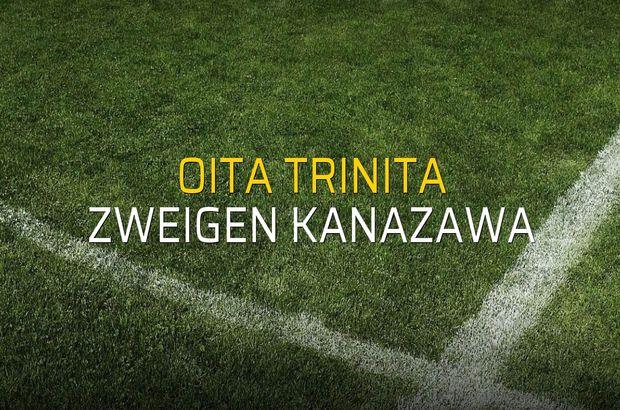 Oita Trinita - Zweigen Kanazawa maç önü