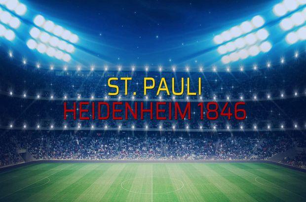 St. Pauli - Heidenheim 1846 düellosu
