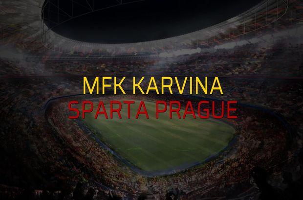 MFK Karvina - Sparta Prague sahaya çıkıyor